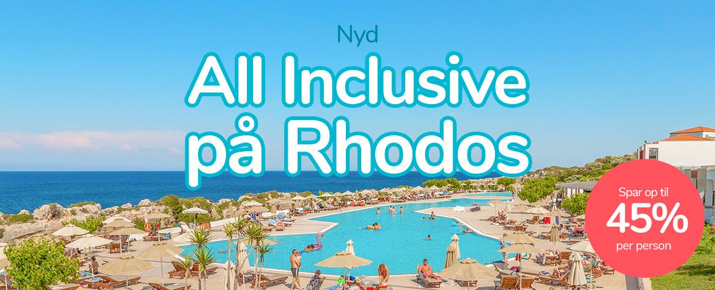 afbudsrejser all inclusive grækenland
